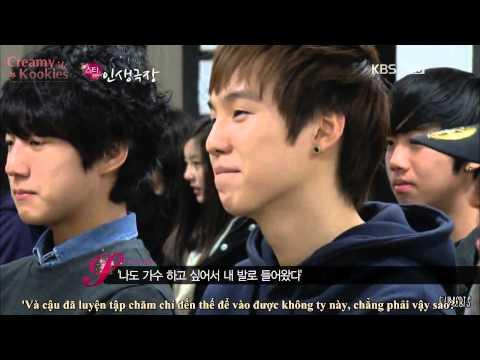 [Vietsub] BTS predebut CUT @2AM Star Life Theatre Ep4