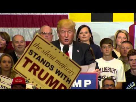 Donald Trump Speaks at Stephen Decatur High (Full Speech)