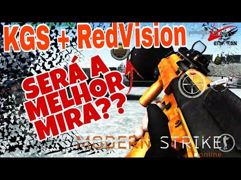 MSO,KGS + RED VISION SERA A MELHOR MIRA???