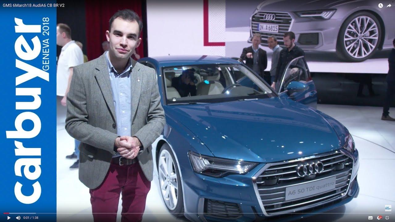 2018 Audi A6 walkaround and interior – Geneva Motor Show 2018 - Dauer: 99 Sekunden