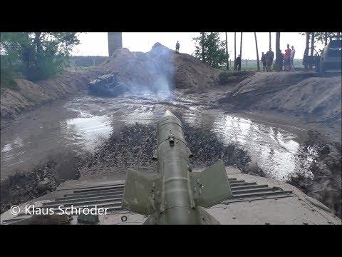 BMP Fahrt Panzerbahn in Peckfitz 2018