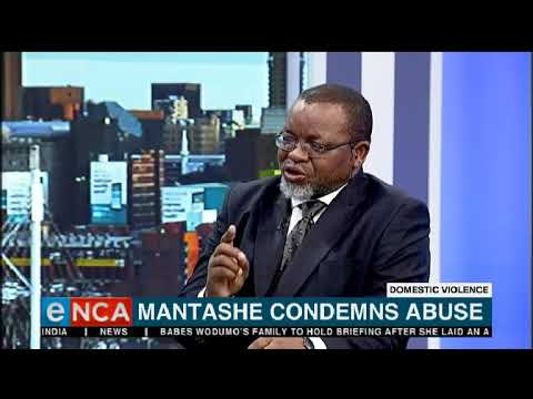 Gwede Mantashe says  the ANC condemns abuse of women