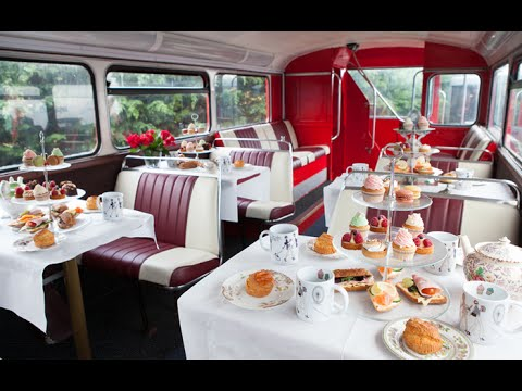 The Afternoon Tea Bus Tour: London's Most Unique Tea Room
