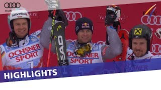 Alexis Pinturault delights home crowd in Val d'Isere GS | Highlights