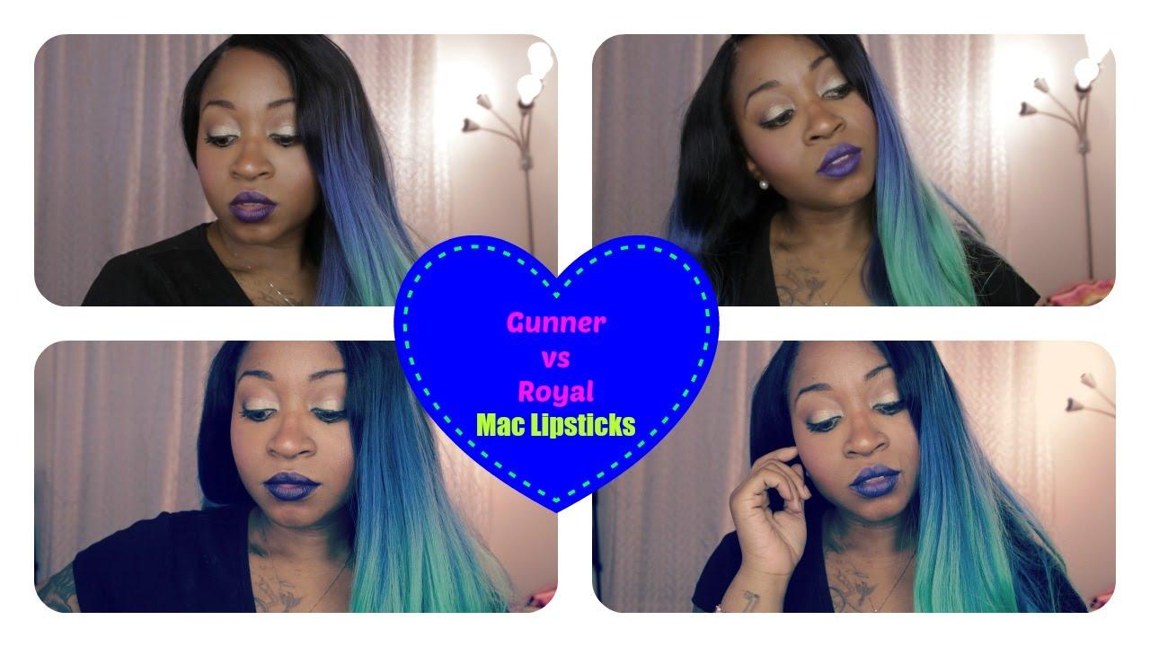 Lipstick New Mac Vs Matte Royal GunnerWocYoutube m08vnwN