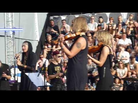 Sarah Kivi & Non-Orchestra - Atomi @ Flow Festival 2014