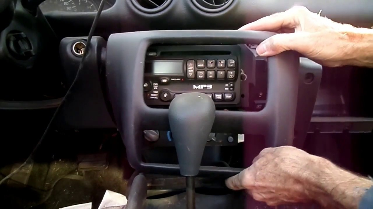medium resolution of pontiac sunfire radio removal