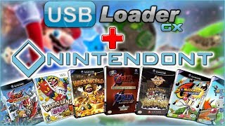 How to Use USB Loader GX to Launch GameCube Games |Nintendont|