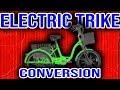 500W Electric Bike Conversion Kit. EBIKEKIT.COM Trike e-bike kit.