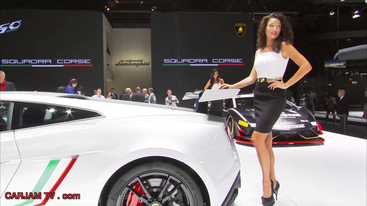 Hot Show Girl  Lamborghini Squadra Corse Hd 2014 Sexy -3908