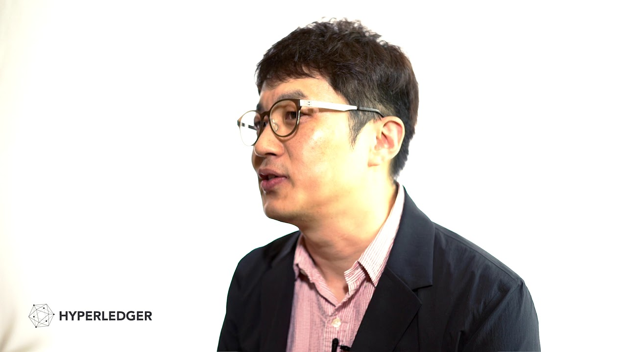 Jeffrey Song of Coinplug on Hyperledger