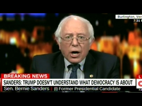 """BERNIE SANDERS """"THIS GUY LIES! ALL OF THE TIME!"""""""