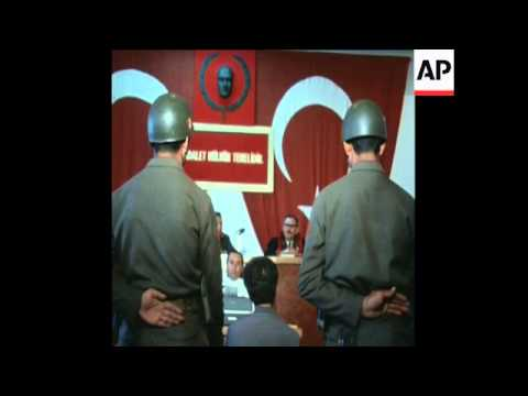 SYND 21/05/71 MEMBER OF TURKISH PEOPLES LIBERATION ARMY, SENTENCED TO 36 YEARS FOR ATTEMPTED BANK RO