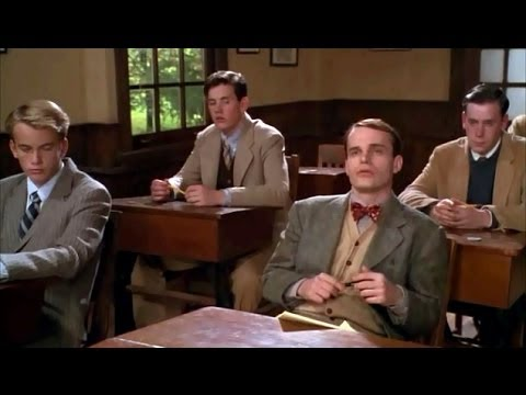 School Ties: French test  Matt Damon, Brendan Fraser, 1992