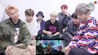 BTS Reaction To Ben Fero-3 2 1  (not real) Resimi