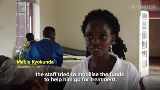 Uganda: Both a refugee and nurse, Bosco focuses on healing (TRAILOR))