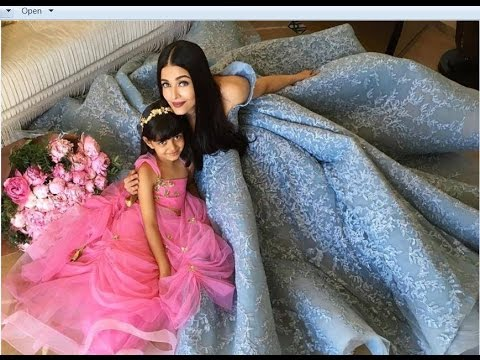 Aishwarya Rai with Daughter AARADHYA Bachchan Latest Video | Aishwarya Rai Family Photos