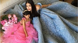 Aishwarya Rai with Daughter AARADHYA Bachchan Latest Video | Aishwarya Rai Family Photos
