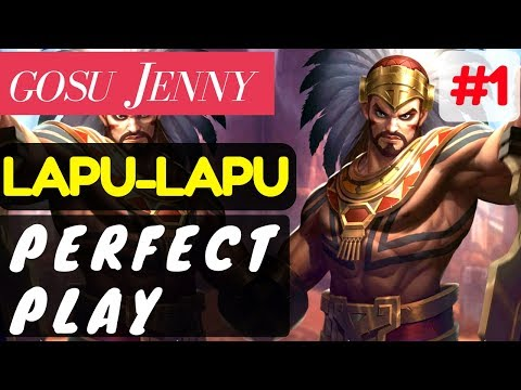 Perfect Play [Rank 1 Lapu lapu] | Lapu lapu Gameplay and Build By ɢᴏsᴜ 𝙹ᴇɴɴʏ Mobile Legends