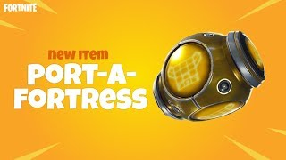 PORT-A-FORTRESS   NEW ITEM (trailer)