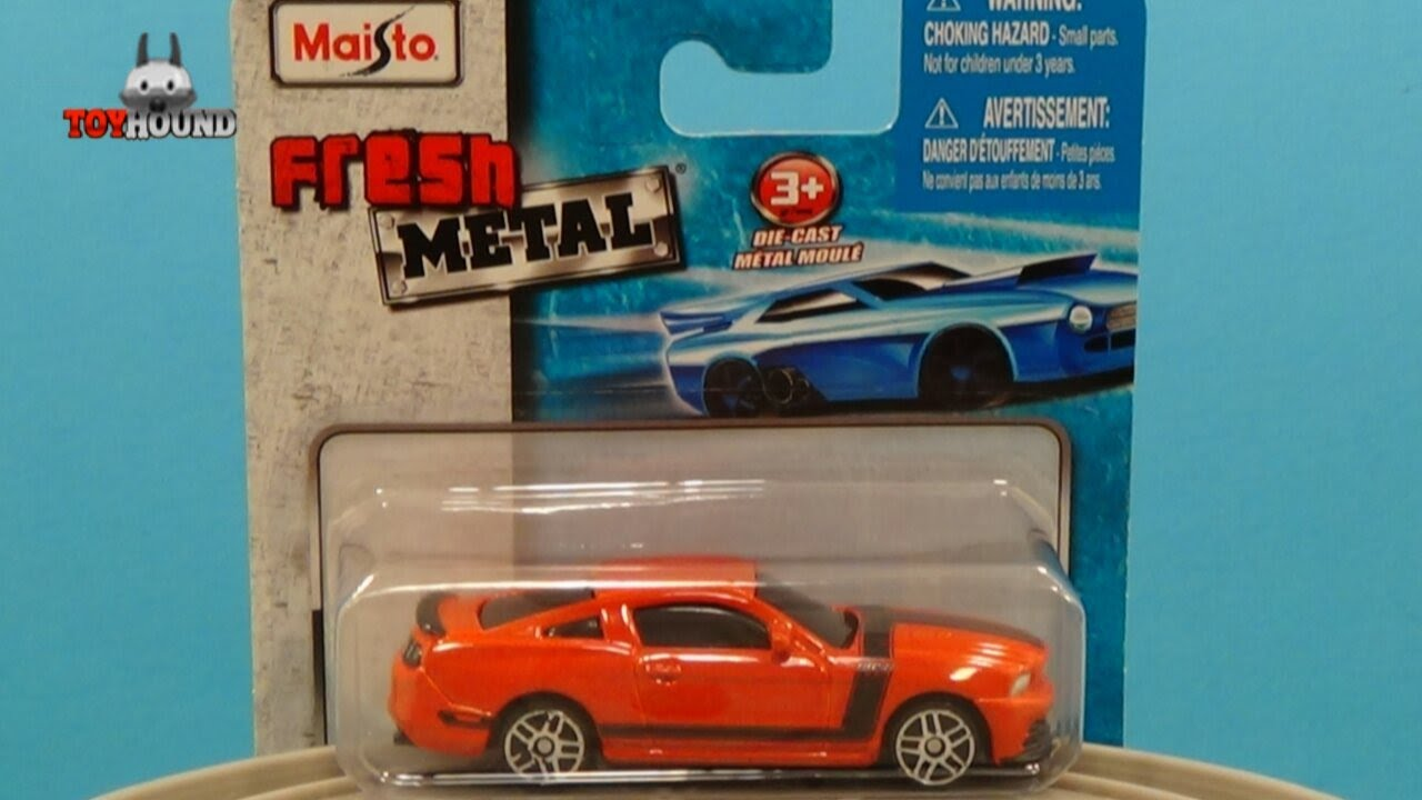 Maisto Fresh Metal 3 Inch 2013 Ford Mustang Boss 302