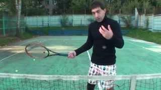 Теннис. Удар справа. Часть 3.