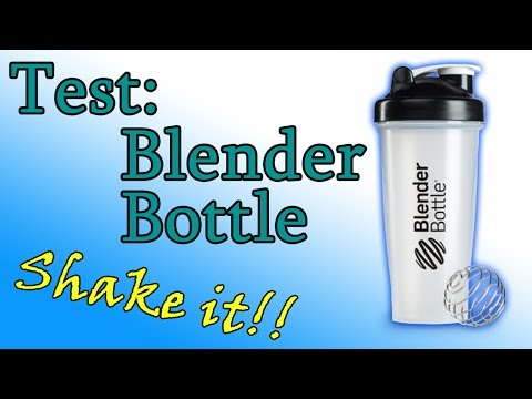 Nya Test: Blender Bottle Shaker [deutsch] - YouTube ZZ-31