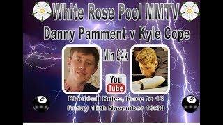 Danny Pamment v Kyle Cope (£5k)