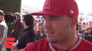 Mike Trout 'excited' about next 12 years after signing $430 million deal with the Angels | MLB Sound