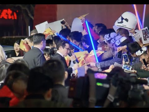 """""""Star Wars: The Force Awakens"""" Premiere in China"""