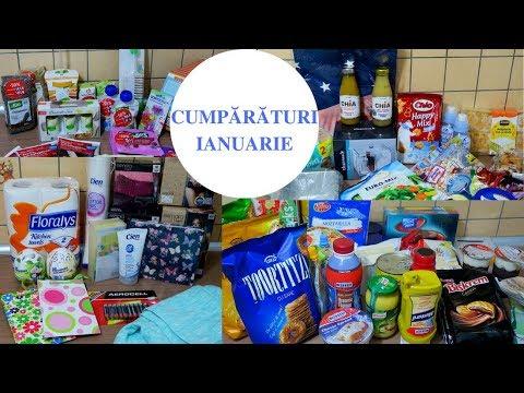 CUMPĂRĂTURI LUNARE - ianuarie 2018 - Penny, Profi, DM, Lidl, Carrefour, Punkt, emag.ro, kisshop.ro