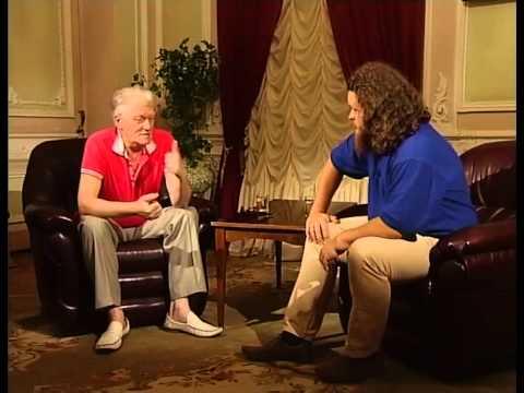 В гостях у ТВ передачи 'Диалоги' поэт Юрий Рыбчинский