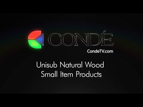 Unisub Natural Wood Small Item Products - Imaged with Dye Sublimation