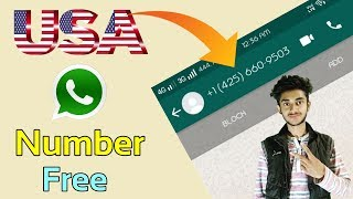 Download How to generate USA number for whatsapp free || Whatsapp trick 2018 || Get U.S fake number free (+1)
