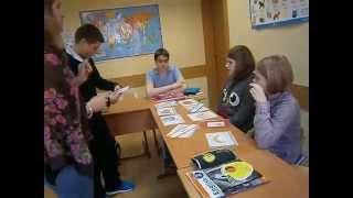 Фрагмент урока в First Decision - апрель 2014 г., 13-14 лет, Elementary