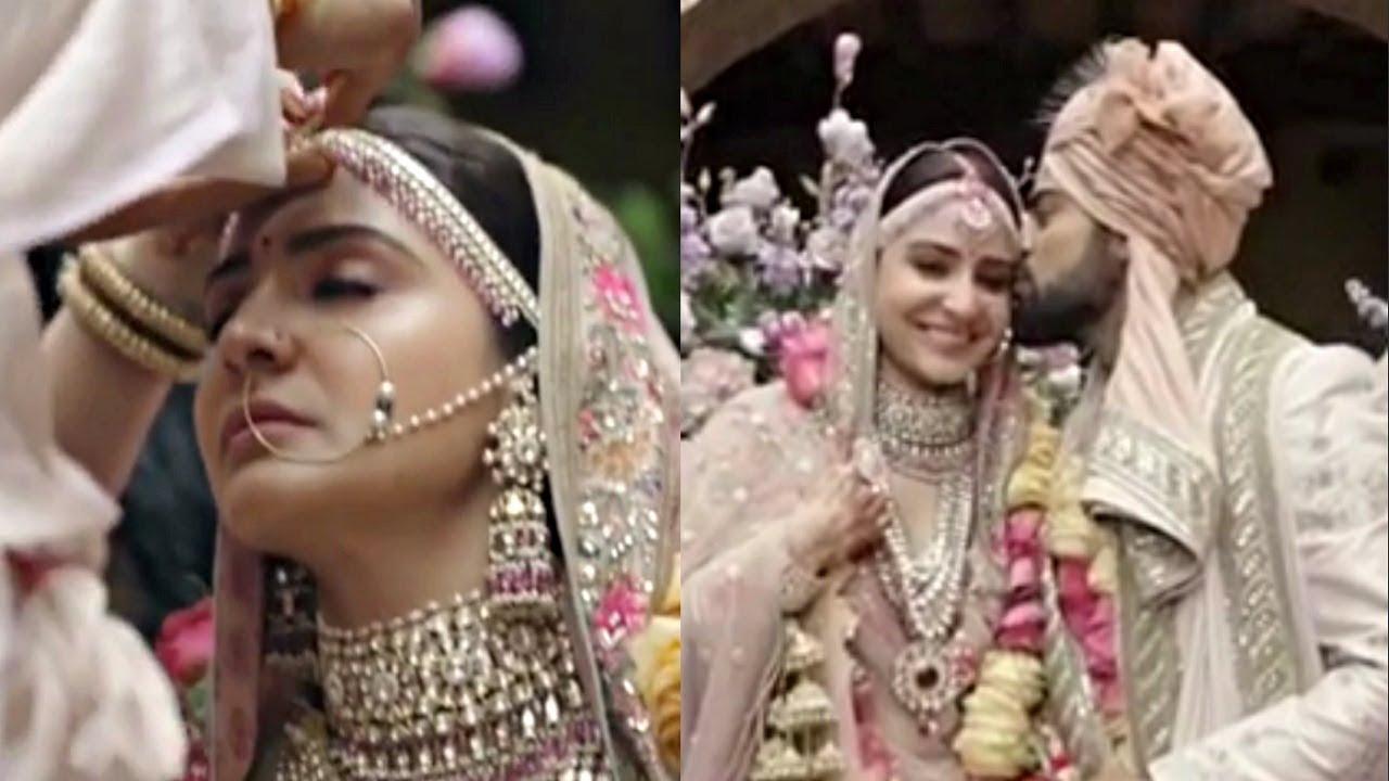 Anushka Sharma And Virat Kohli Shares Inside Wedding Video On First Wedding Anniversary