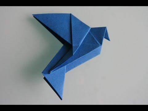 origami taube dove youtube. Black Bedroom Furniture Sets. Home Design Ideas