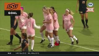 West Virginia vs Oklahoma State Soccer Highlights