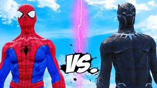 THE AMAZING SPIDER-MAN VS BLACK PANTHER