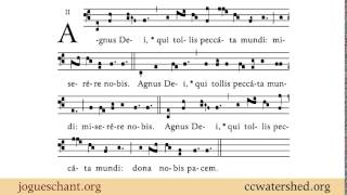 Agnus Dei XII from Missa XII Pater cuncta , Gregorian Chant