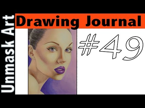 """Drawing Journal #49 """"The Myth of Drawing from Your Mind & Perfection"""""""