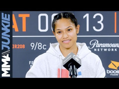 Bellator 208: Jennifer Chieng post fight interview