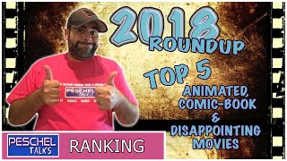 Top 5 Animated, Comic-Book and Disappointing Movies of 2018