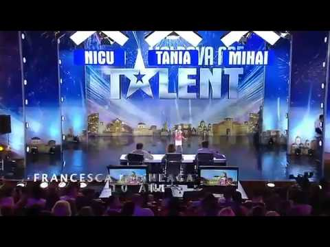 Moldova Are Talent   Francesca Mosneaga 21 11 2014 Sezonul 2, Ep 10