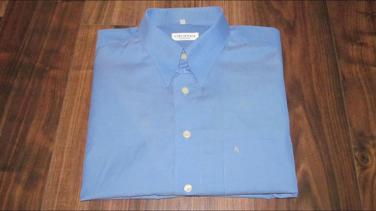 1c0b6e31c16b03c Как сложить рубашку, чтобы она не помялась: пошаговая техника для изделий с  длинными и короткими рукавами