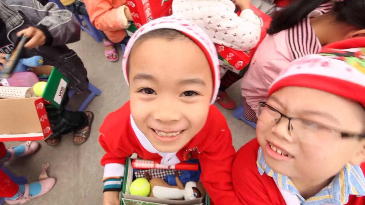 Operation Christmas Child 2016 - YouTube