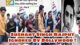 Sushant Singh Rajput Ignored By Bollywood Team   Shraddha kapoor Chichore l Heart Broaking Video