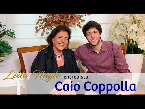 COM A PALAVRA CAIO COPPOLLA | LEDA NAGLE