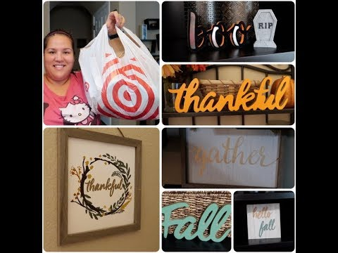 Target Haul New Fall Home Decor Winter Items Youtube