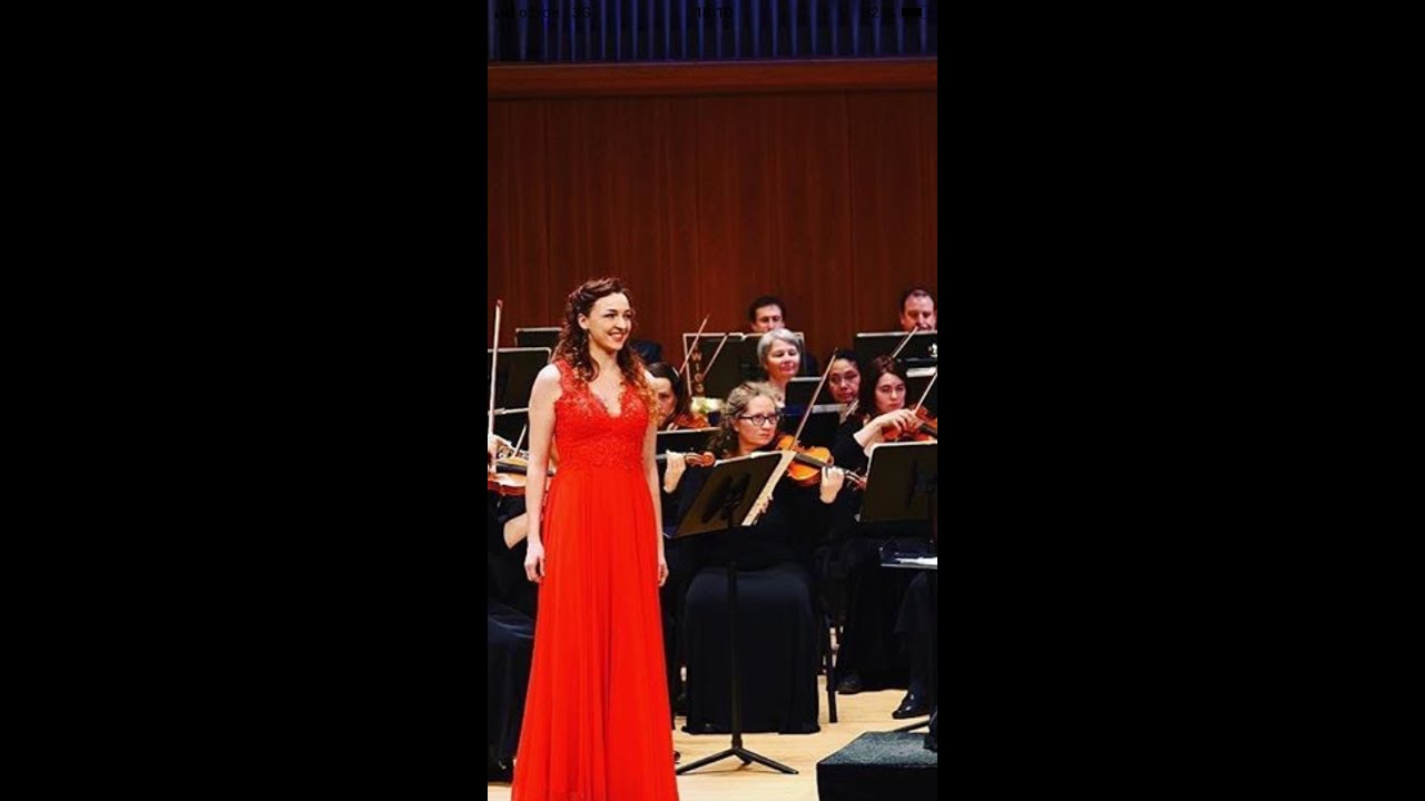 """Florence Losseau, Mezzosopran – """"Dunque io son"""" aus Il barbiere di Siviglia von G. Rossini"""